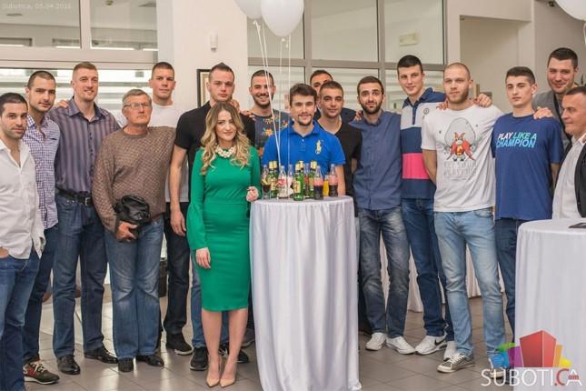 """Košarkaški klub """"Spartak"""" obeležio kraj uspešne sezone"""