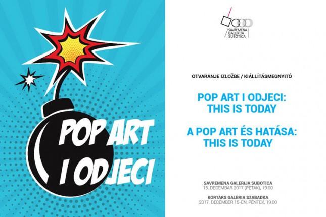 """Otvaranje izložbe """"Pop art i odjeci: This is Today"""" sutra u Savremenoj galeriji"""