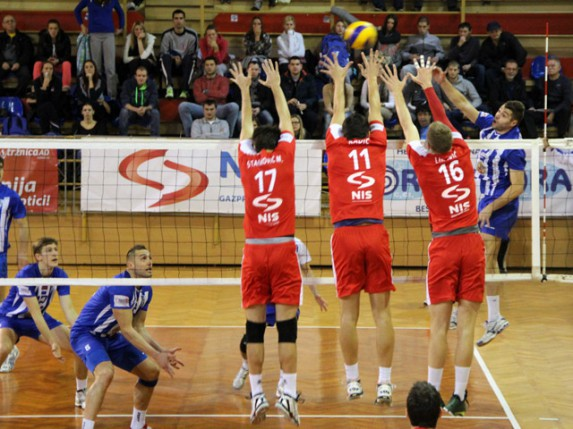 Poraz odbojkaša Spartaka od Vojvodine (0:3)