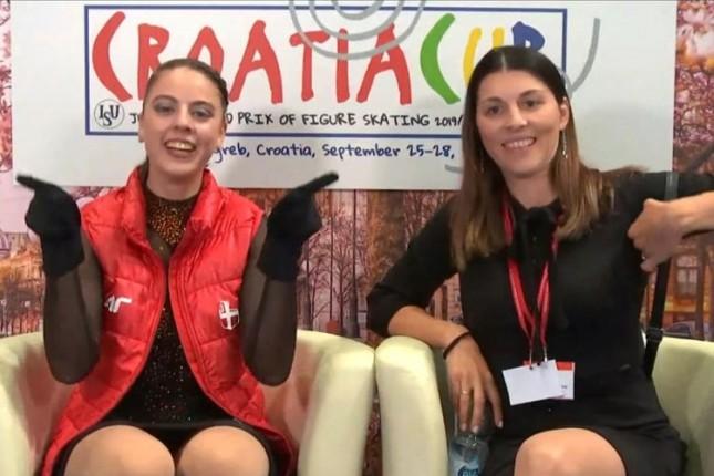 Klizanje: Leona Rogić ulazi u svet seniorki