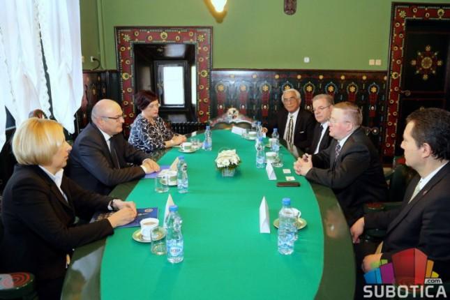 Ambasador Belorusije u oproštajnoj poseti Subotici