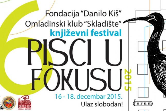 "VI Književni festival ""Pisci u fokusu"""