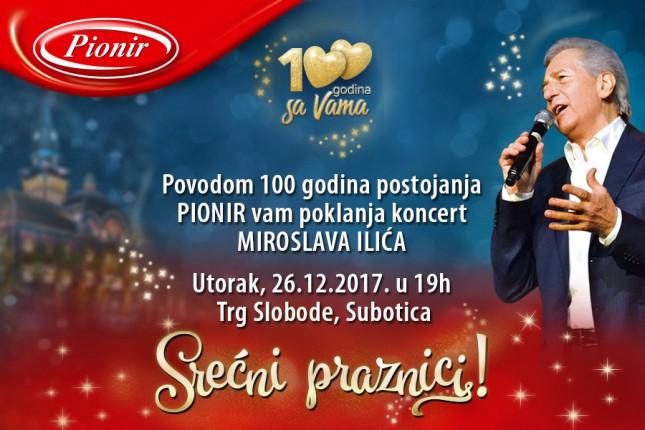 """Pionir"" poklanja sugrađanima koncert Miroslava Ilića"