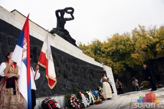 Obeležavanje 70 godina od oslobođenja Subotice