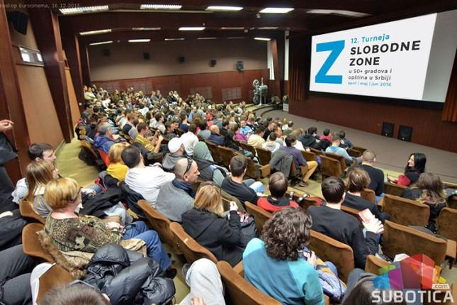"Filmski festival ""Slobodna zona"" od večeras na Otvorenom univerzitetu"