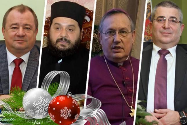 Božićne i novogodišnje čestitke građanima Subotice