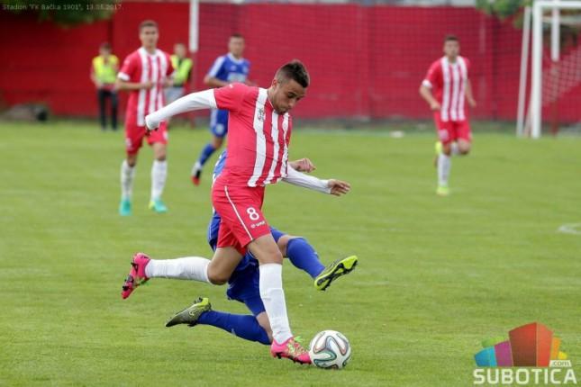 Fudbal: Bačka 1901 dočekuje Dinamo iz Pančeva