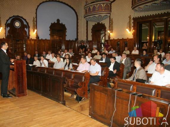 5. sednica Skupštine Grada - tok dešavanja