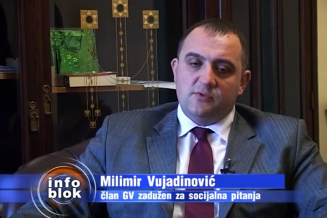 """Vujadinović: Grad obezbedio donatora za užine u školi OIS """"Žarko Zrenjanin"""""""