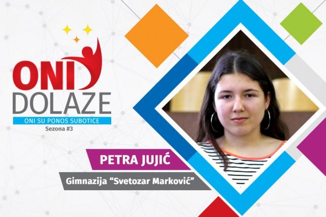 """Oni dolaze: Petra Jujić, učenica drugog razreda Gimnazije """"Svetozar Marković"""""""
