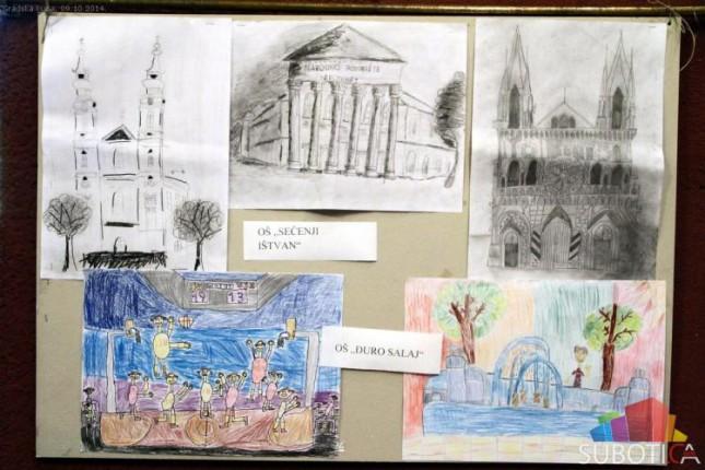 Izložba dečijih radova u organizaciji SUBNOR-a