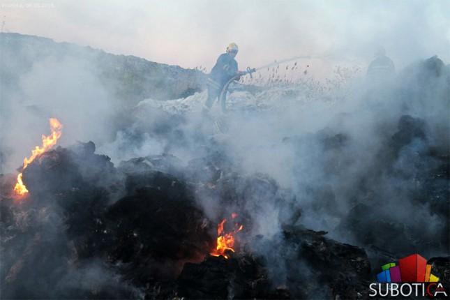 Požar na divljoj deponiji brzo lokalizovan