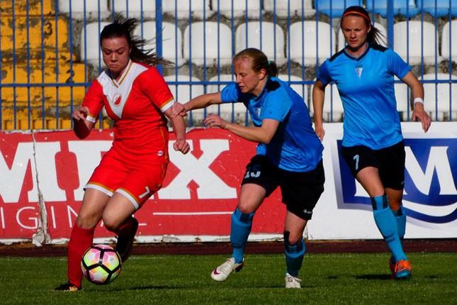 """Fudbal: """"Golubice"""" sigurne protiv Vojvodine na startu plejofa (3:0)"""