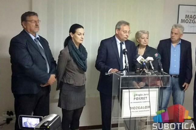 Maglai: Gradska vlast ne funkcioniše, peticija SVM je lažna!