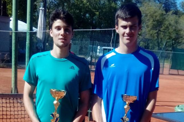 Tenis: Međedović najbolji u singlu, Subanović u dublu juniorskog turnira u Subotici