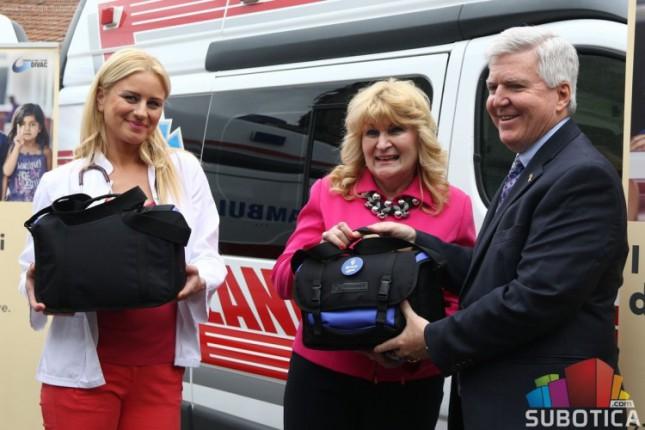 Donacija dva EKG aparata Domu zdravlja Subotica