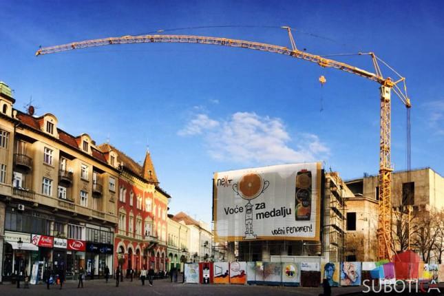 145 miliona dinara iz Pokrajine za nastavak radova na pozorištu