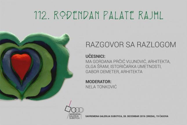 Razgovor povodom 112 godina izgradnje i trajanja Palate Rajhl