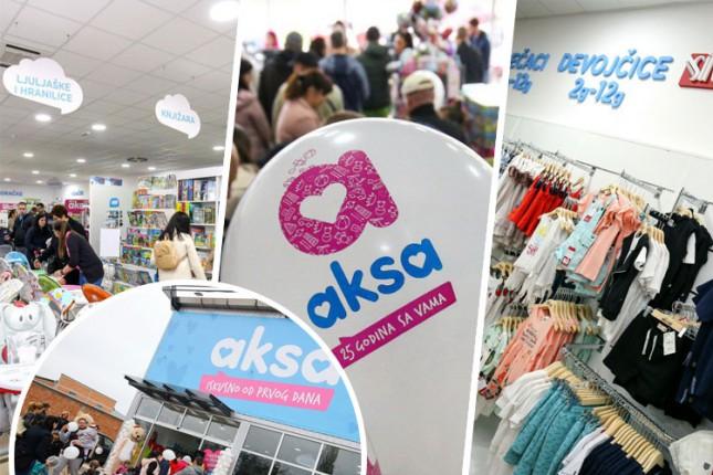 """""""Aksa"""" otvorila prodavnicu na Palićkom putu"""