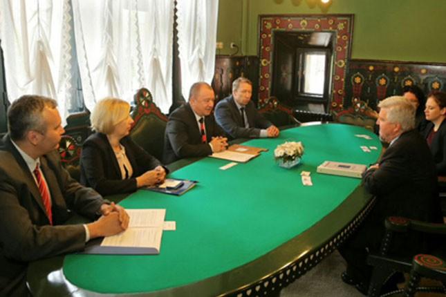 Ambasador SAD Kajl Skot u poseti Subotici