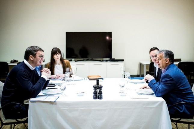 Vučić i Orban razgovarali večeras u Subotici