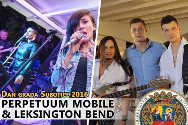 Perpetuum mobile i Leksington bend zabavljaju Subotičane za Dan grada