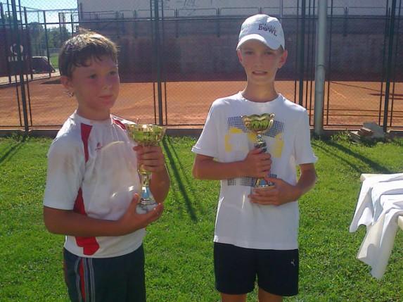 Mladi teniser Spartaka pobednik prvenstva Vojvodine za dečake do 10 godina