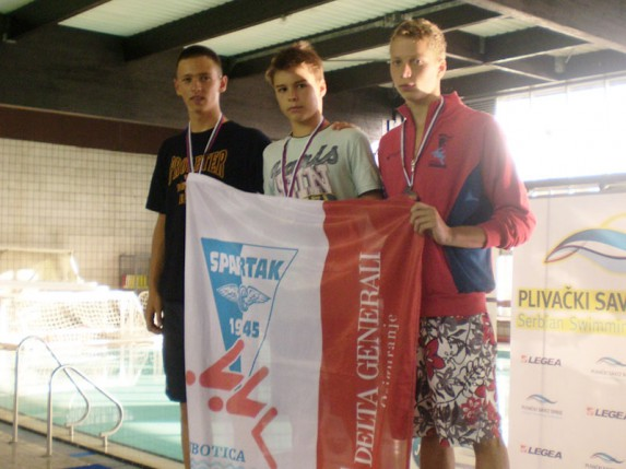 Uspešan vikend plivača Spartaka