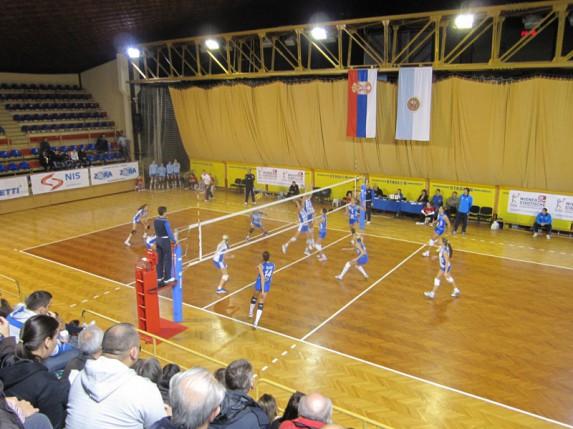 Odbojkašice Spartaka u polufinalu Kupa Srbije