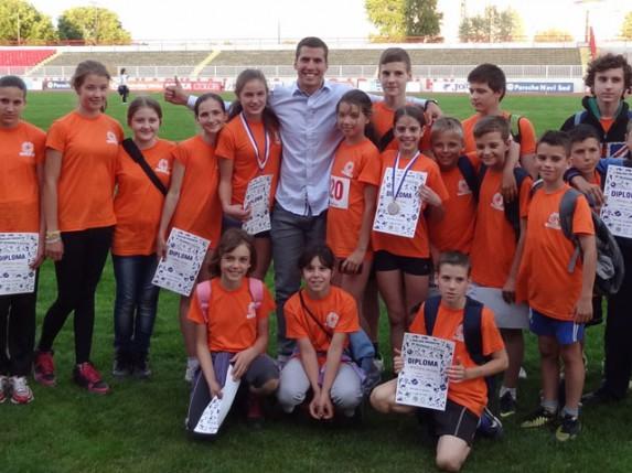 Održano školsko prvenstvo AP Vojvodine u atletici