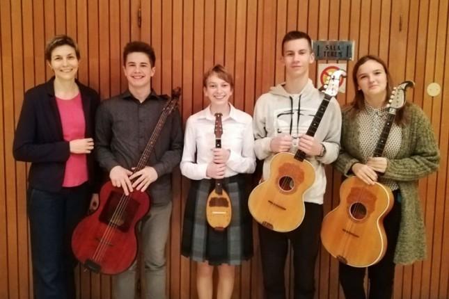 Tamburaški kvartet koncertom prikuplja novac za nastup na festivalu u Belgiji