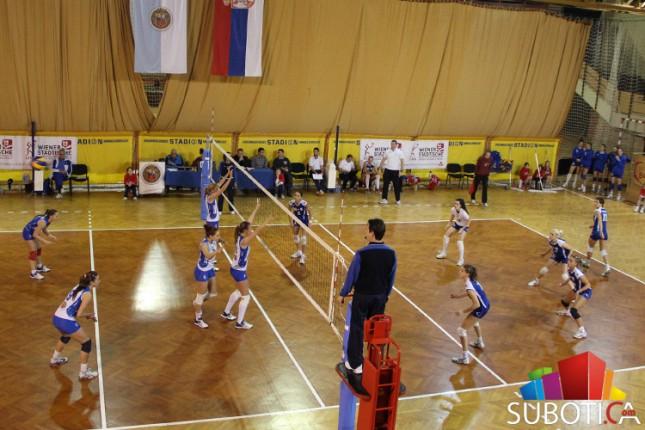 Odbojkašice Spartaka ponovo vode u polufinalnoj seriji