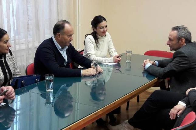 Ministar prosvete posetio Hemijsko-tehnološku školu