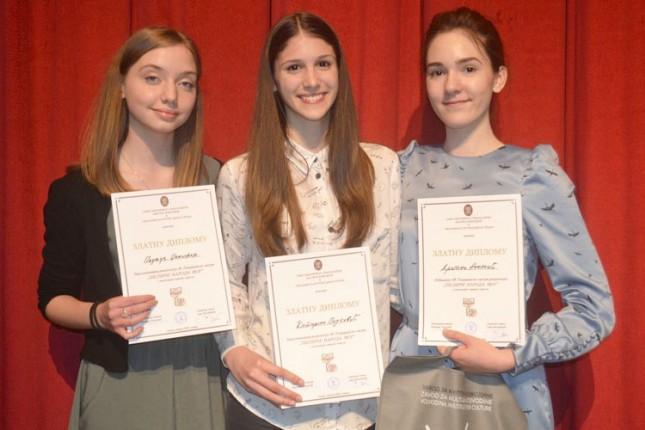 Sedam zlatnih diploma za subotičke recitatore