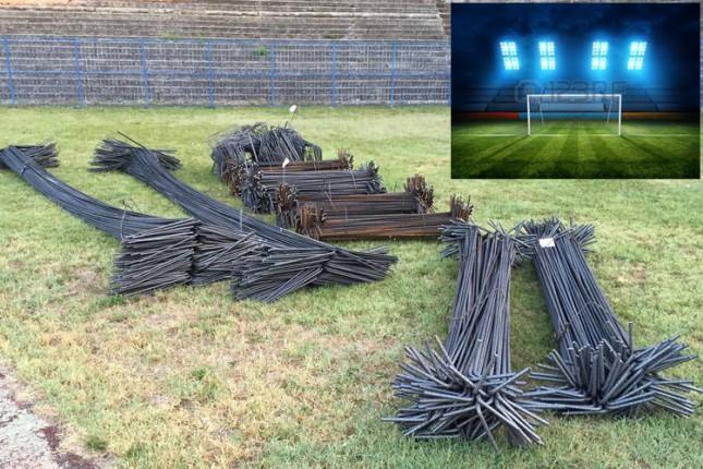 Počeli pripremni radovi za postavljanje reflektora na Gradskom stadionu
