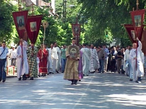 Obeležena gradska slava - Slava Svetovaznesenskog hrama