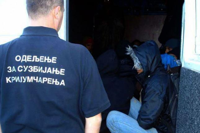 Sprečeno krijumčarenje 68 migranata