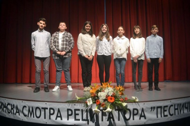 Odličan uspeh subotičkih recitatora na Pokrajinskoj smotri