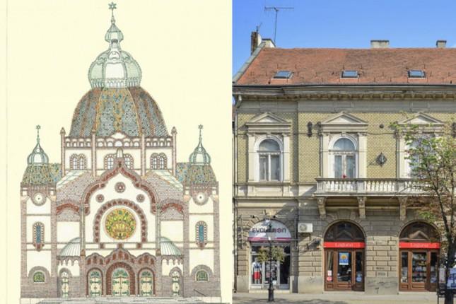 Izložba crteža i fotografija subotičkih fasada u petak u Savremenoj galeriji