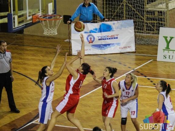 Poraz košarkašica Spartaka od Crvene zvezde (52:73)