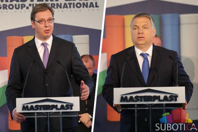 Vučić i Orban otvorili proizvodni pogon u Masterplastu