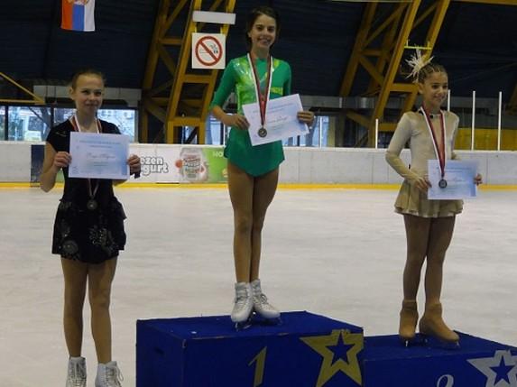 Klizačica Spartaka Leona Rogić osvojila 1. mesto na Prvenstvu Srbije