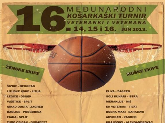 Košarkaški veterani po 16. put u Subotici