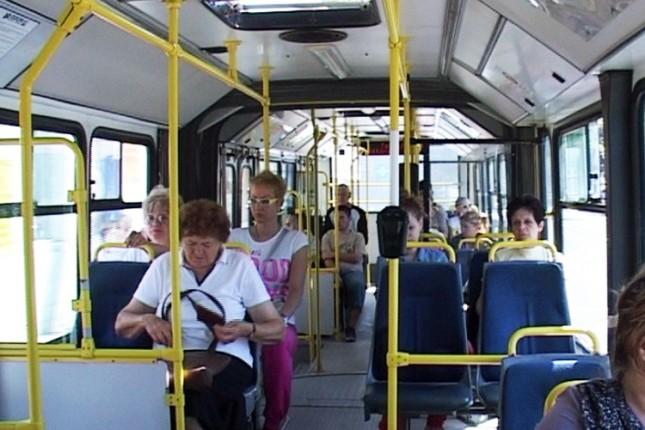 Klima uređaj u dva gradska autobusa