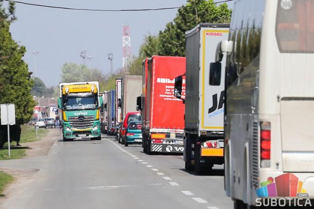 Zabrana tranzita teretnog saobraćaja kroz Mađarsku za vreme praznika