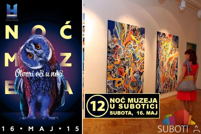 Program XII Noći muzeja 2015