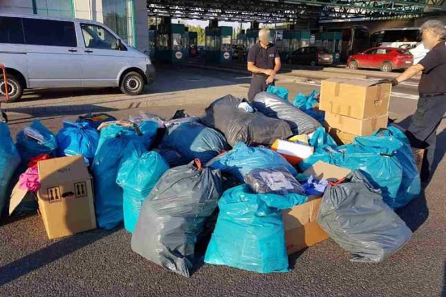 Zaplenjen tovar od preko 3.500 odevnih predmeta
