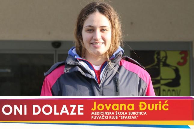 """Oni dolaze: Jovana Đurić, maturantkinja Medicinske škole i član Plivačkog kluba """"Spartak"""""""