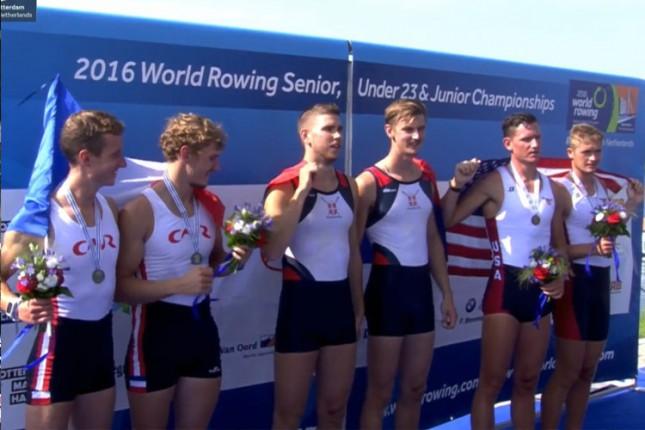 Mačković i Pivač osvojili zlatnu medalju na Svetskom prvenstvu (U23)