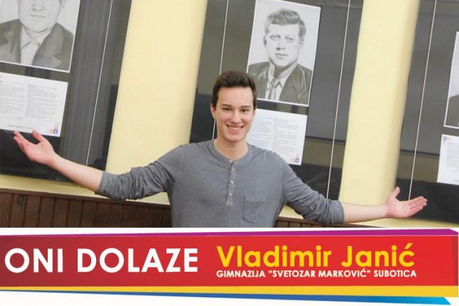"Oni dolaze: Vladimir Janić, Gimnazija ""Svetozar Marković"""
